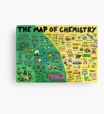 Lámina metálica El mapa de la química