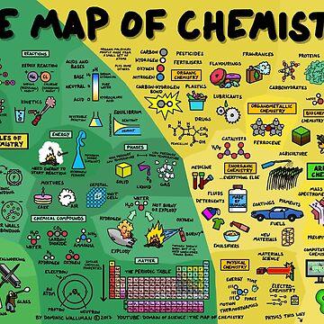 Die Karte der Chemie von DominicWalliman