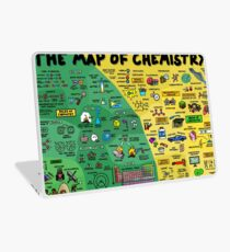 The Map of Chemistry Laptop Skin