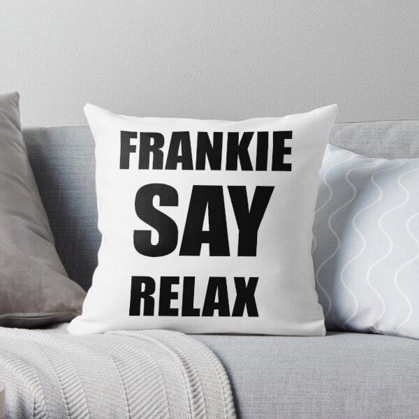 ross's shirt frankie relax Throw Pillow