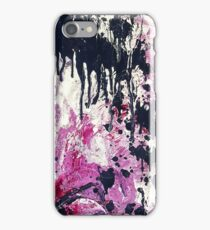 Bold Abstract - Plum iPhone Case/Skin