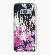 Bold Abstract - Plum Samsung Galaxy Case/Skin