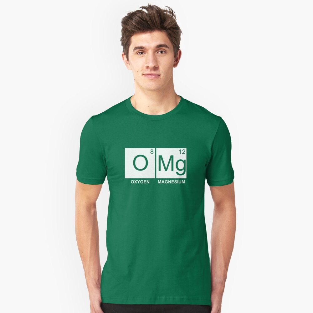 O-Mg - Oxygen Magnesium Slim Fit T-Shirt