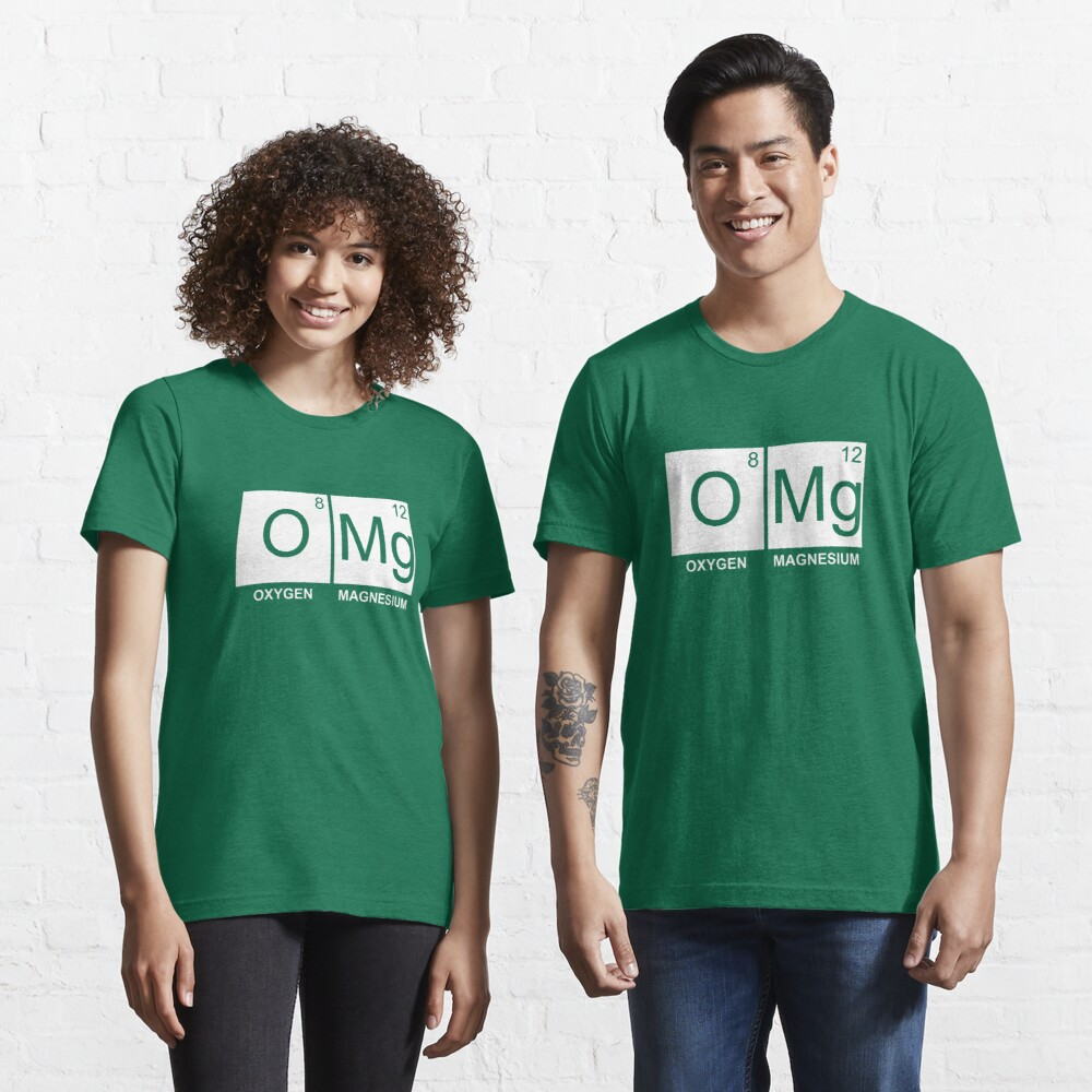 O-Mg - Oxygen Magnesium Essential T-Shirt