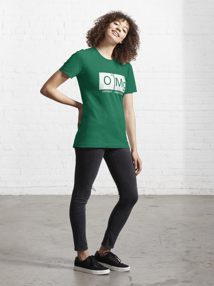 Alternate view of O-Mg - Oxygen Magnesium Essential T-Shirt