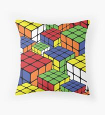 Cubix - Pop Art Throw Pillow