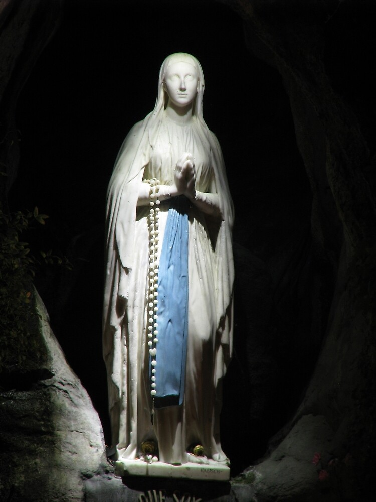 Our Lady of Lourdes by fajjenzu