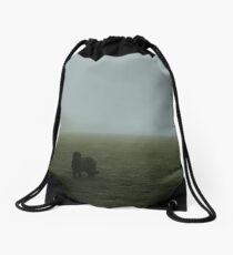 Spooky Fog Drawstring Bag