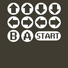 The Konami Code by TeesBox