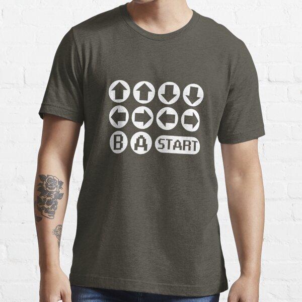 Le code Konami T-shirt essentiel