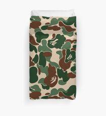 Bape Ape Camo Duvet Cover