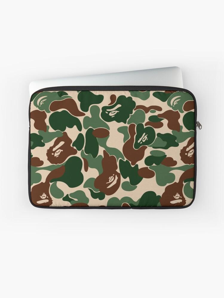 huge discount e71fe e3b83 Bape Ape Camo | Laptop Sleeve