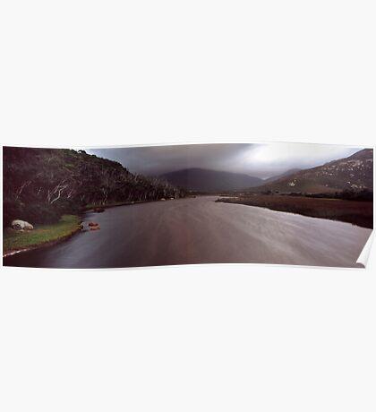 Tidal river - Wilsons Promontory Poster