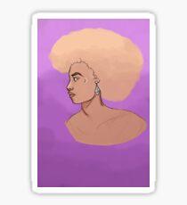 FEMME LION Sticker