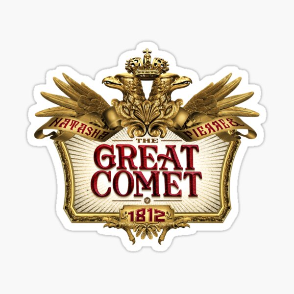 Great Comet of 1812 Sticker