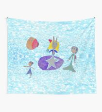 Alice Up to the light sky Wall Tapestry