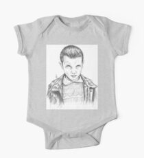 Stranger Things - Eleven Portrait One Piece - Short Sleeve