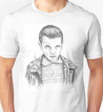 Stranger Things - Eleven Portrait Unisex T-Shirt