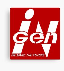 InGen: We Make The Future Canvas Print