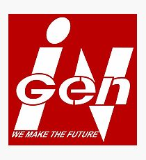 InGen: We Make The Future Photographic Print