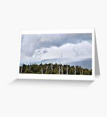Stormy Smokey Mountains Greeting Card