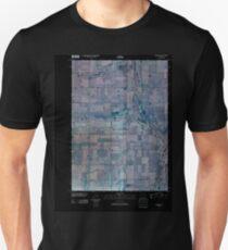 USGS TOPO Map Iowa IA Livermore 20100427 TM Inverted T-Shirt