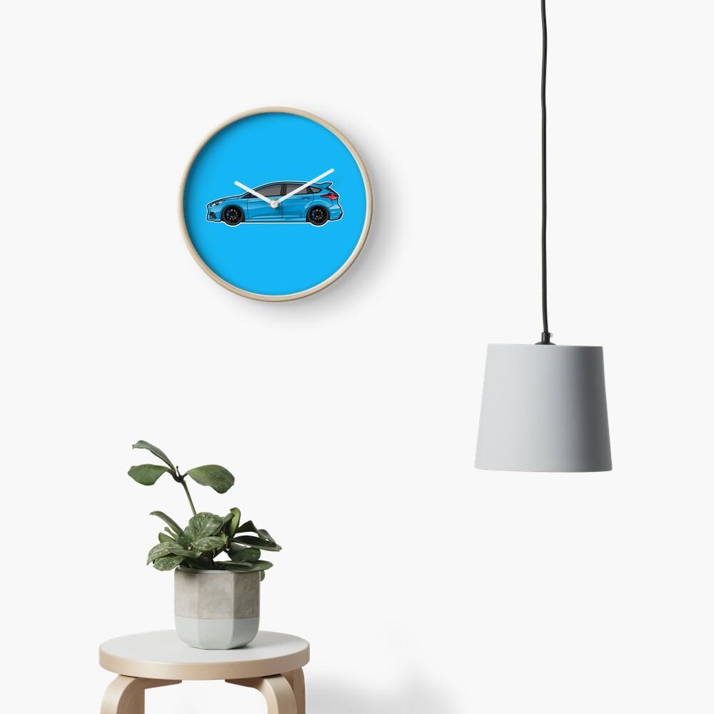 16-17 azul Reloj