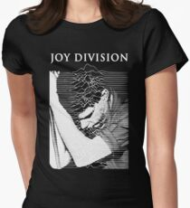 unknown pleasures (Joy division ian curtis) Womens Fitted T-Shirt
