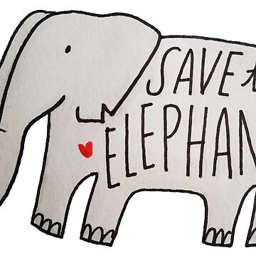 Save the Elephants by delabrmr