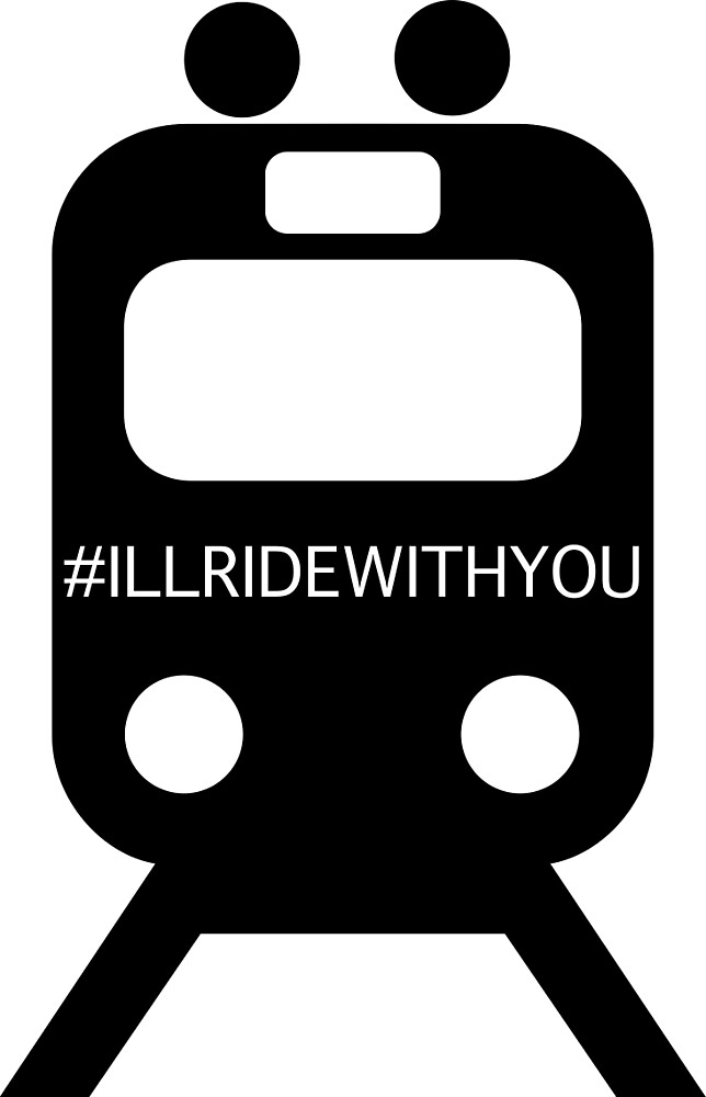 I'll ride with you (#Illridewithyou) tram by Upbeat