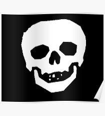 Skull Face Poster