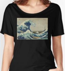 the great wave off kanagawa Women's Relaxed Fit T-Shirt