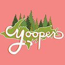 Yooper - Green and Pink by Elyse Boardman