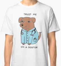 Dogtor Doctor Dog Classic T-Shirt