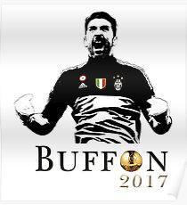 Gianluigi Buffon ballon d'or 2017 Poster