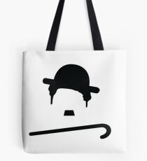 Chaplin with Cane Tote Bag