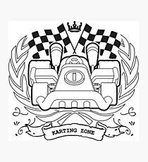 Karting Zone Photographic Print
