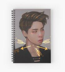 Hurting Spiral Notebook