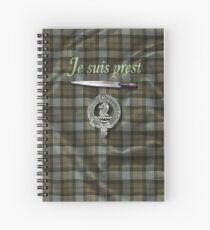 Je suis prest (Outlander) Spiral Notebook