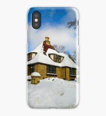 Winter Fairy Tale House iPhone Case/Skin