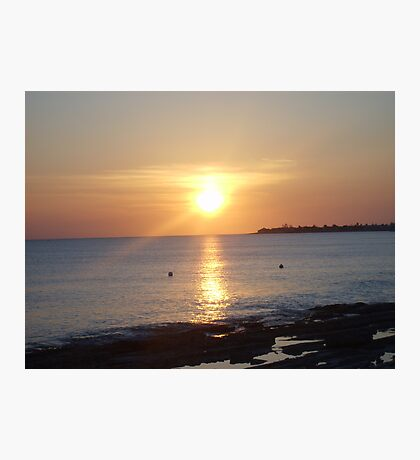 Cayman Sunset Photographic Print