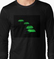 Bioluminescent Mushrooms T-Shirt