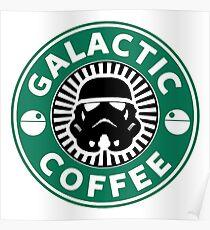 I like my coffee dark. Poster