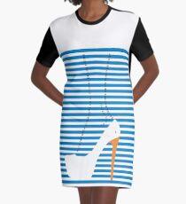 CISNE Graphic T-Shirt Dress