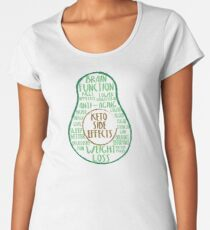 Keto Benefits  Women's Premium T-Shirt