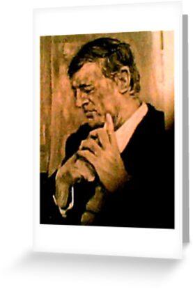 William F. Buckley, Jr    1925 - 2008 by Barbara Sparhawk