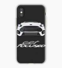 16-17 Get Focused White iPhone Case