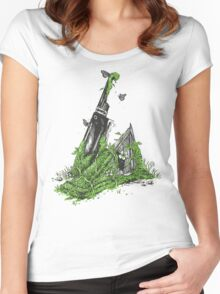 Silent Decay Women's Fitted Scoop T-Shirt