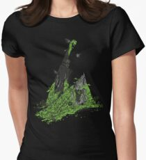 Silent Decay Womens Fitted T-Shirt
