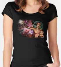 Wonders of the Universe Women's Fitted Scoop T-Shirt